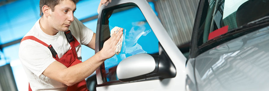 Lavage de voiture à sec